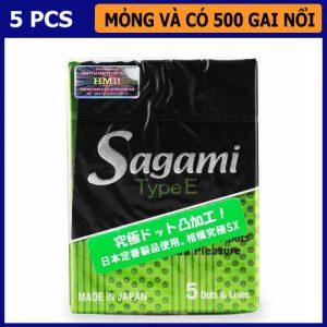 Bao cao su có gai Sagami Type E