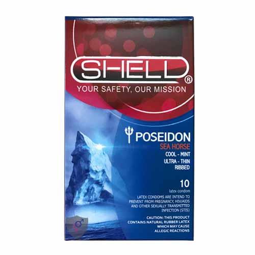 Bao cao su có gân Shell Poseidon