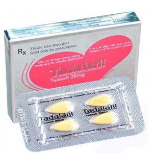Thuốc cường dương cho nam Tadalafil 20mg