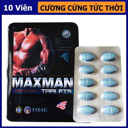 Thuốc hỗ trợ cương cứng lâu Maxman 3800mg