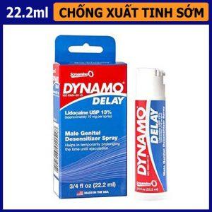 Thuốc hỗ trợ lâu xuất tinh Dynamo Delay