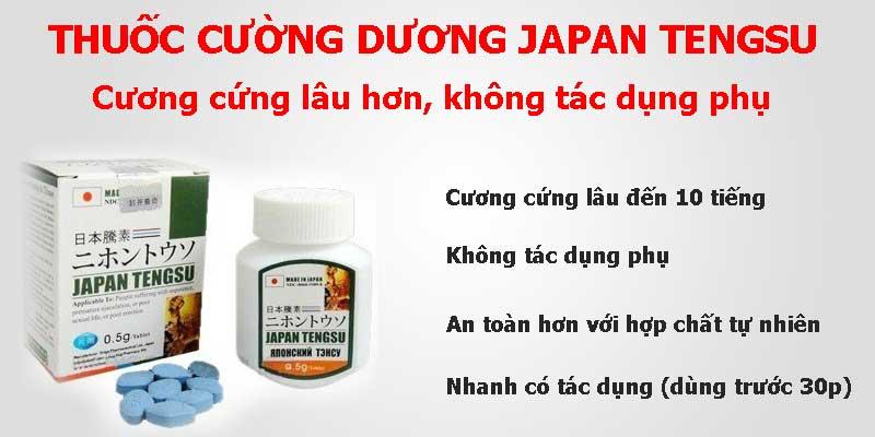 thuốc cường dương thảo dược japan tengsu ở vũng tàu