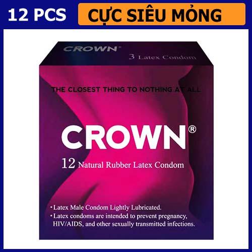 Bao cao su cực siêu mỏng Crown Okamoto